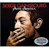 Avec Amour - Serge Gainsbourg (3CD) [SAME DAY DISPATCH * NEW SEALED]