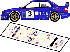 DECALS 1/43 SUBARU IMPREZA WRC #3 - KUZAJ - RALLYE DE POLOGNE 2003 -MFZ D43024