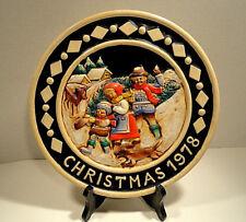 Bavarian Christmas Plate 1978 Schmid Designs W Germany