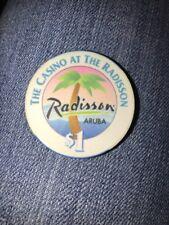 $1 The Casino At The Radisson Aruba Casino Chip (KC)