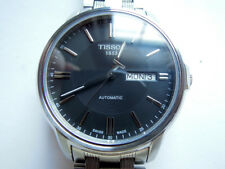 Swiss Tissot Automatic III Date Day Mechanical Bracelet Watch Mint Boxes Papers