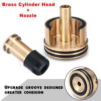 Jinming Gen8 Gen9 M4A1 Gearbox Brass Double Cylinder Pump Head+Plunger Nozzle !