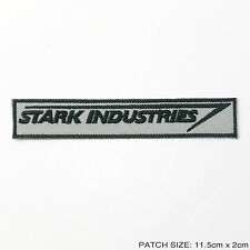 STARK INDUSTRIES - Staff Uniform Logo Patch, IRON MAN, Tony Stark