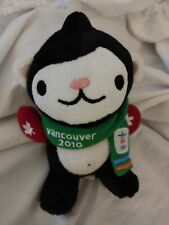 Vancouver 2010 Winter Olympics Miga Plush Mascot with Red Mittens