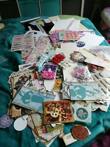 Large Job Lot Of Card Making Toppers,Stickers, Embellishments,Peel Offs