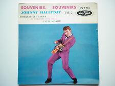 Johnny Hallyday 45Tours EP vinyle Souvenirs Souvenirs vogue 2ème édition