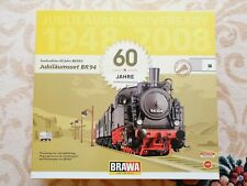 More details for brawa 45975 dampflok br94 iiia jahre special 60 years loco wagon jubilee set ho