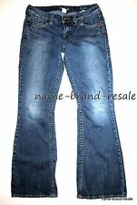 SILVER JEANS Eden Bootcut Flare Womens Juniors 29 x 31 Faded Denim Wash