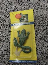 Vintage Renosky Natural Frog Topwater Fishing Rubber Lure