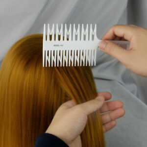Big Tooth Comb Hair Dyeing Tool Highlighting Salon Hair Dyeing Combs New