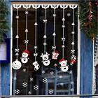 Merry Christmas Snowman Wall sticker Decal Xmas Tree Snowflake Room Window Decor