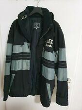 AUDI Agent by MClub Ski Winter Jacke Hose Emporio Armani Size XL Schwarz Grau