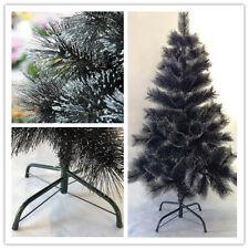 Arbol de Navidad Artificial de PINO Negro con Purpurina (Árboles de Navidad)