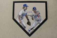 Ron Cey Los Angeles Dodgers Hand Painted Signed MLB Schutt Homeplate