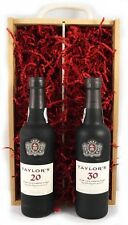 1971 Taylor Fladgate 50 years of Port in a wooden gift box 2 x 375ml