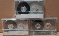 2 TDK MA-XG90 METAL IV  + 1 TDK MA-XG60 METAL  IV TAPE CASSETTE K7 METAL CASE