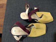 SPORTSGIRL Multi-Coloured Heels 8