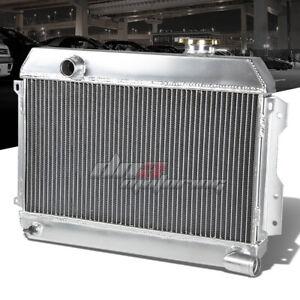 FOR 1968-1973 DATSUN 510/1600/2000/521 PICKUP 2-ROW FULL ALUMINUM RACE RADIATOR