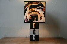 Handmade Ocean Colour Scene Lamp + Album Cover Lampshade, ocs, moseley shoals