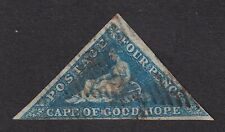 Cape of Good Hope 1855-64 4d blue used