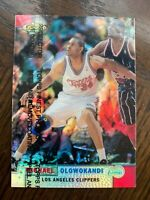 1999-00 Finest Refractors Clippers Basketball Card #67 Michael Olowokandi