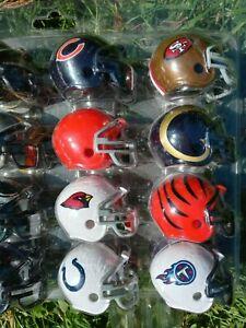 NFL Mini Football Helmet Collection Buffalo Bills San Fransisco 49ners Tennessee
