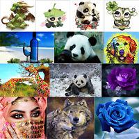 5D Diamond Painting DIY Diamant Kreuzstich Stickerei Tieren Menschen Blumen Bild