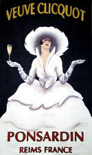 Vintage French Country Veuve Cliquot Champagne Print, Poster, Gift
