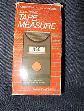 MICRONTA VTG RadioShak Ultrasonic TapeMeasure with Memory Recall 64-2830 NIB 45'
