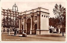BR77312 marble arch  london real photo   uk