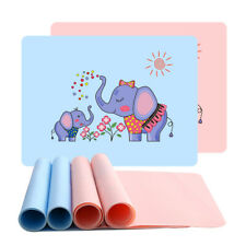 Silicone Insulation Pad For Kids Dining Table Kitchen Cloud Placemat Place Mat