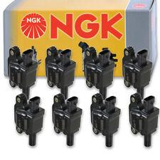 8 pcs NGK Ignition Coil for 2014-2016 GMC Sierra 1500 6.2L 5.3L V8 - Spark ln