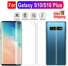 Samsung Galaxy S10 / 10+ Plus Front & Back Clear Screen Guard Protector Slim