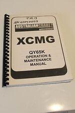 XCMG QY65K Truck Crane Operation, Maintenance & Service Manual