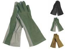 Mil-Tec US Pilotenhandschuhe Lang Handschuhe Flammhandschuhe S-XXL