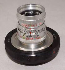 Steinheil Munchen Cassarit f2.8 36mm MACRO Lens Exakta Mount