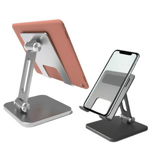 Metal Stand For iPad Pro 11 2021 iPhone 12 Desktop Foldable Phone Tablet Holder