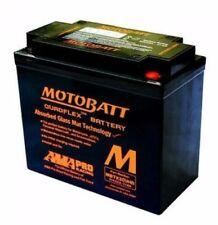 MOTOBATT mbtx20u Batterie Gel 20% extra à partir de puissance