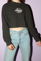 brandy melville black Nancy not your Angel since 1993 thermal top NWT sz S/M