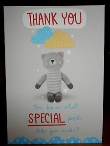 Thank You ~ You know what Special People like you make?  Greeting card ~Free p&p