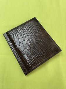Dunhill Alligator Card Wallet