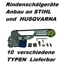 Entrindungsmaschine Anbau an Stihl 024 026 MS 240-271 Kettensäge