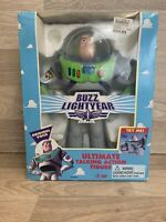 """1995 DISNEY TOY STORY BUZZ LIGHTYEAR 12"""" ULTIMATE TALKING ACTION FIGURE BOXED"""