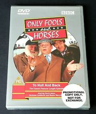 ONLY FOOLS and HORSES DVD To Hull and Back New & Sealed Promotional DVD