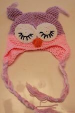 Baby Girls Kids parrot Cute crochet Knit Warm Ski Party beanies hat Cap Prop