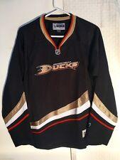 Reebok Women's Premier NHL Jersey Anaheim Ducks Team Black sz L