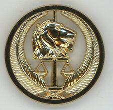 Insigne de beret GENDARMERIE TCHAD Afrique (lion)