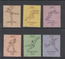 YUGOSLAVIA - 1952 Olympics - Michel 698/73 hinged mint (2090)
