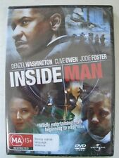 DVD - Inside Man - Region 4