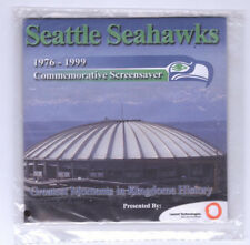Seattle Seahawk Commemorative Screen Saver 1977-1999